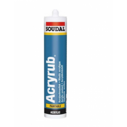 Sellador Acrilico Pintable 300ml Soudal