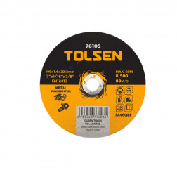DISCO CORTE 1.2MM 4 12 TOLSEN 76102