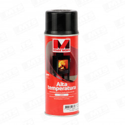 SPRAY ALTA TEMPERATURA NEGRO 485ML MARSON
