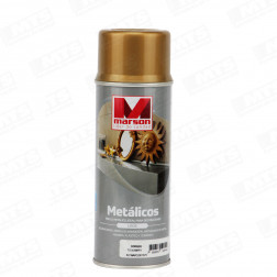 SPRAY METAL DORADO 485ML MARSON